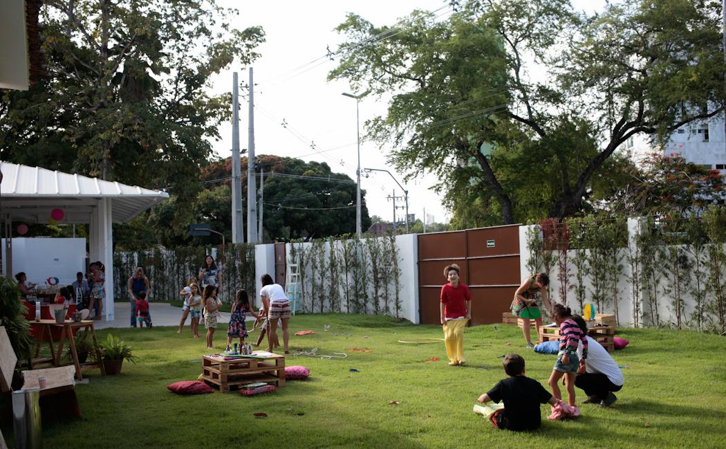 Local também recebe eventos infantis - Crédito: Izabela Alves/Divulgação