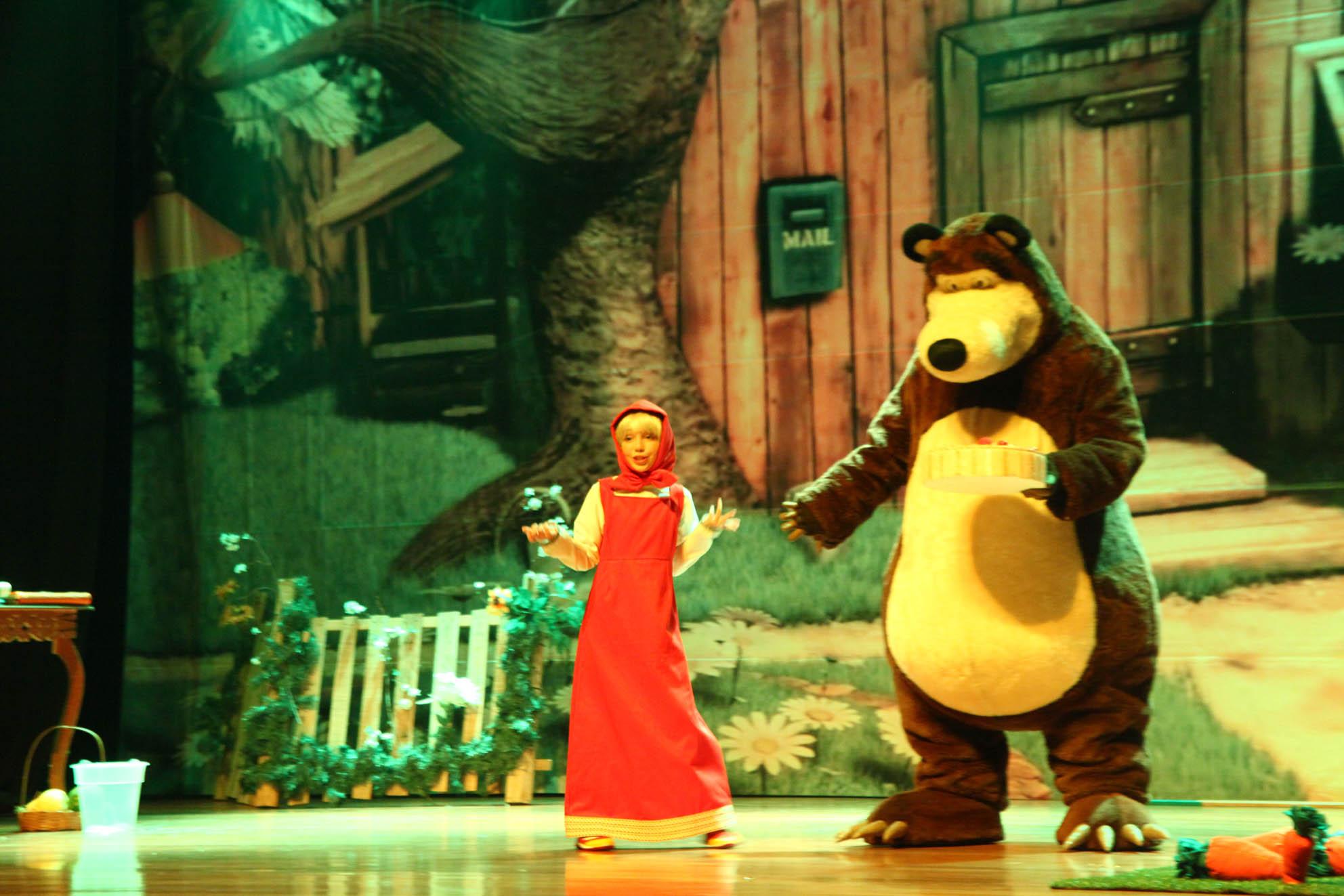 Masha e o Urso - Crédito: Divulgação