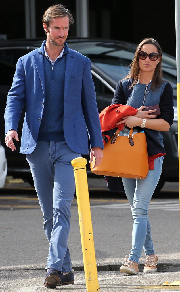 James Matthews e Pippa Middleton - Crédito: Reprodução/PacificCoastNews