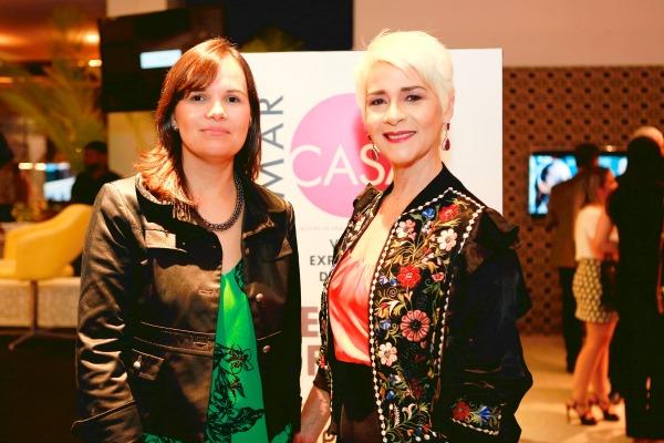 Deniele Halinski e Carla Guerra - Crédito: Marcelo Marona