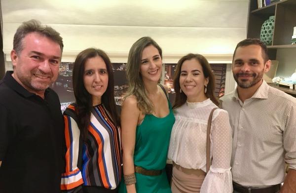 Fred da Mota, Alê Barbosa, Fernanda Costa, Isabel e Gustavo Nascimento - Crédito: Marcelo Marona