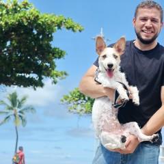 PET Social: Batata, o cão vira-lata do chef Armando Pugliesi