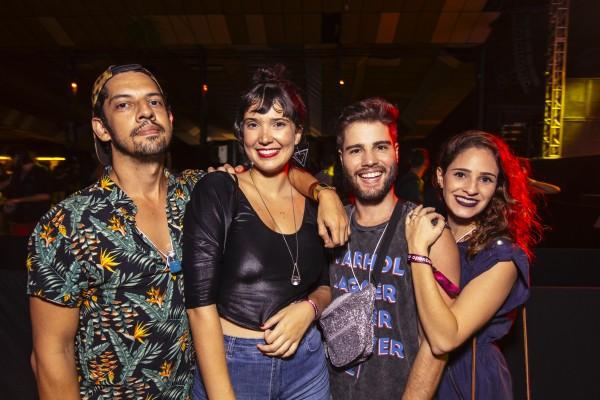 GoozGooz, Raisa de Biase, Xande Medeiros e Luciana Neiva - Crédito: Lana Pinho/Divulgação
