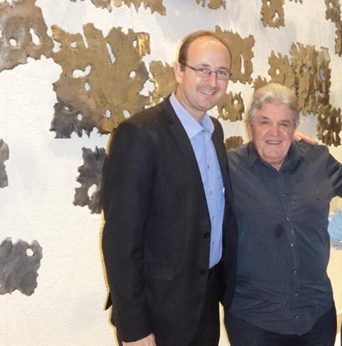 Guido Stutz e Julião Konrad