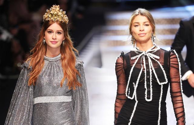 Marina já desfilou para a Dolce & Gabbana em Milão - Crédito: Antonio Barros/Reprodução