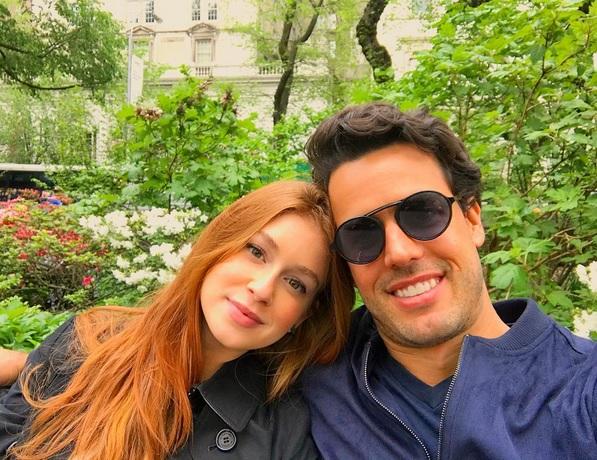 Marina Ruy Barbosa e Xandinho Negrão - Crédito: Reprodução/Instagram