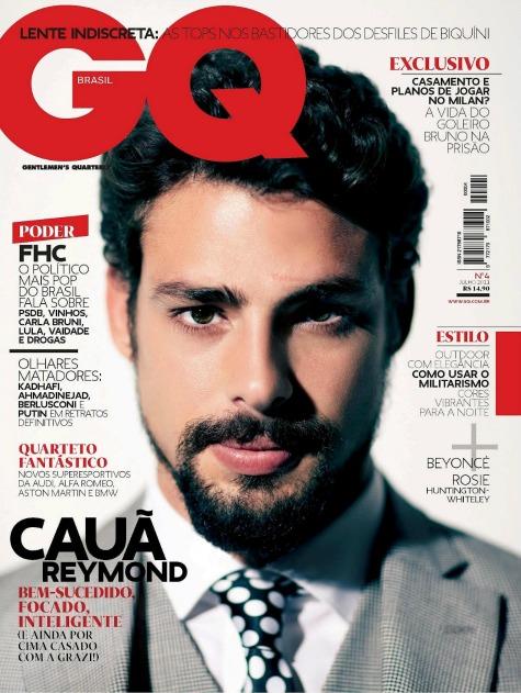 Cauã Reymon na capa da GQ - Crédito: Divulgação