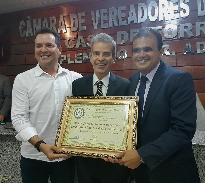 Junior Moreno, Alberto Feitosa e Edmilson Alves/Divulgação