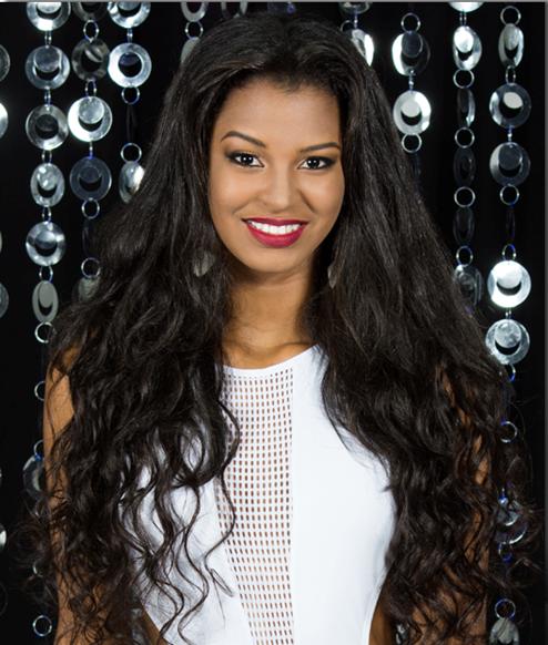MISS OLINDA: Gleicy Santana, 20 anos, 1,80m - Crédito: Valmir Lira