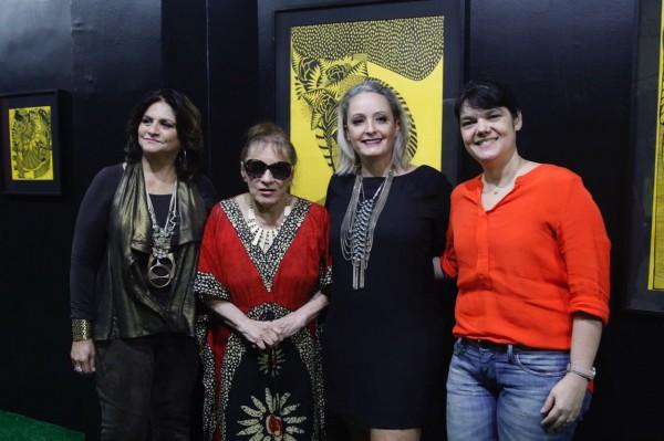 Thina Cunha, Tereza da Costa Rêgo, Dani Acioli e Renata Cavalcanti - Crédito: Ricardo Fernandes/DP