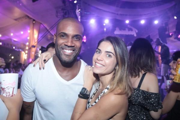Rafael Zulu e Gabriela Arruda - Crédito: Luiz Fabiano/Divulgação