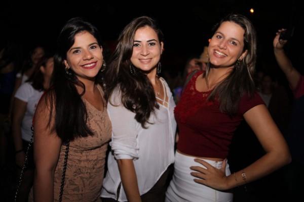 Rayana Leitão, Wanessa Correia e Lilian Leal - Crédito: Lara Valença/Divulgação