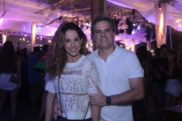 Vanessa e Silvio Pontual - Crédito: Luiz Fabiano/Divulgação