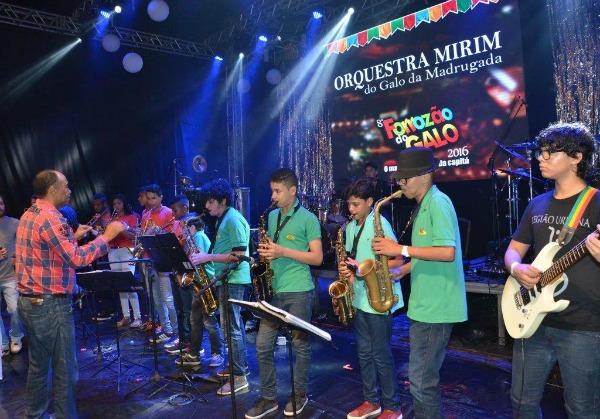 Orquestra Mirim do Galo da Madrugada - Crédito: Divulgação