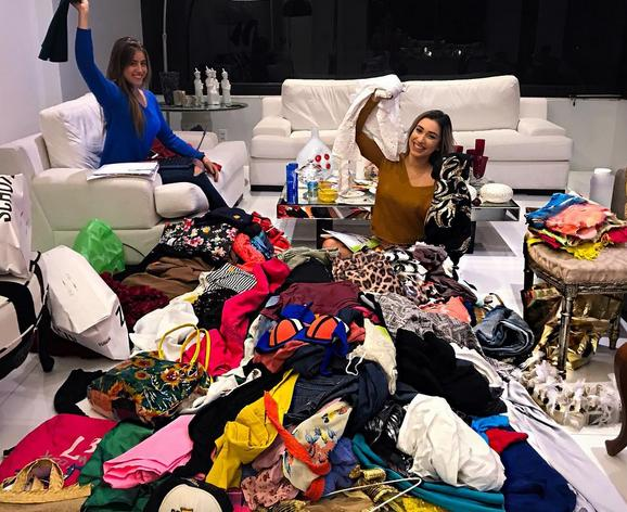 Juliana Latache e Fernanda Figueiras organizam o bazar solidário neste domingo, na Proventus, nas Graças, com peças a partir de R$ 5 - Crédito: Reprodução do Instagram