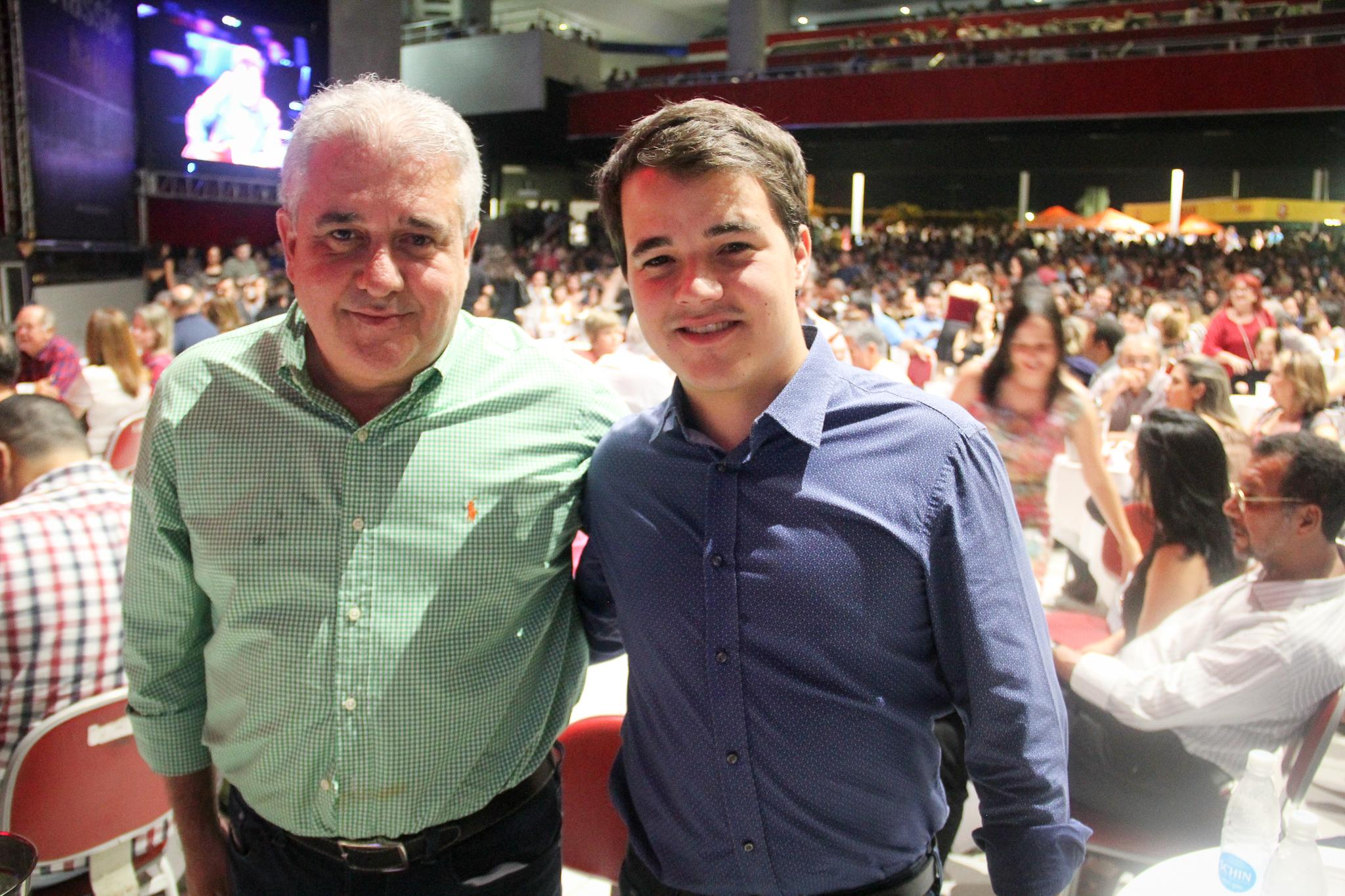 Augusto e Rodrigo Coutinho - Crédito: Wellington Silva/Divulgação