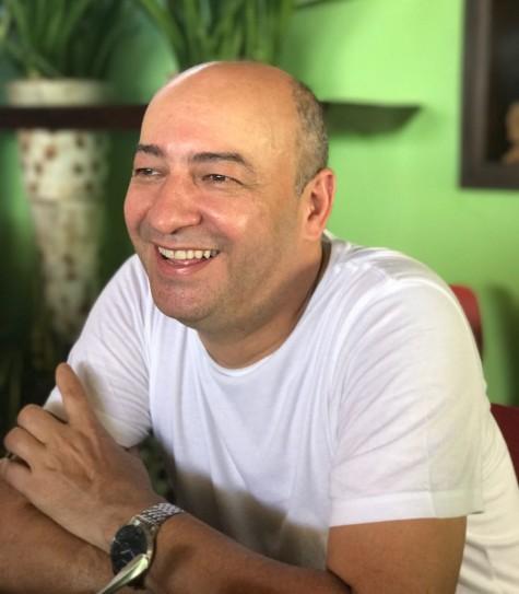 Cesar Santos recebeu a imprensa, hoje, em almoço no Oficina do Sabor, para apresentar novo festival gastronômico - Crédito: Thayse Boldrini/DP