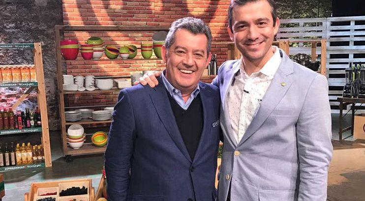 Chefs Rui Paula e Miguel Rocha Vieira - Crédito: Divulgação