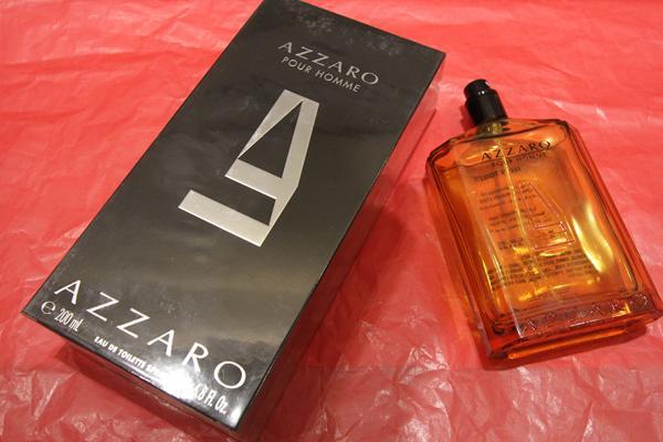 Perfume Azzaro a partir de R$ 139 (a depender do tamanho) - Crédito: Nando Chiappetta/DP