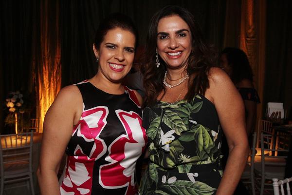 Cristina Mello e Kátia Peixoto - Crédito: Roberto Ramos / DP