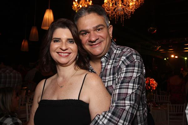 Ana Paula e Augusto Carreras - Crédito: Roberto Ramos / DP