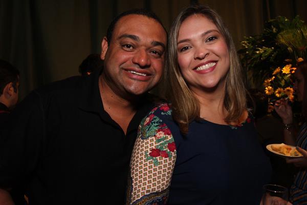 Paulo Souza e Danúbia Souza - Crédito: Roberto Ramos / DP