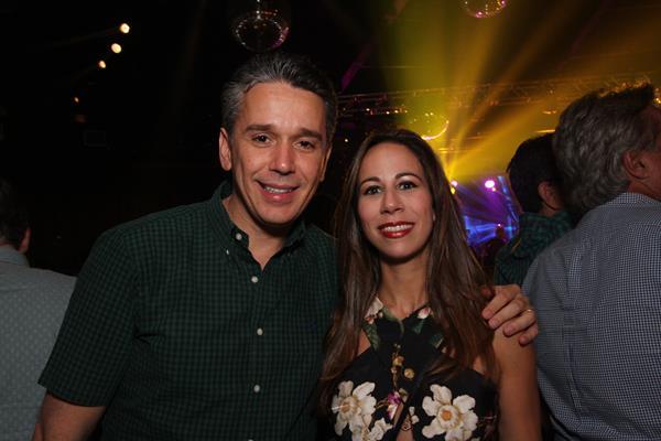 Felipe Carreras e Fabiana Carreras - Crédito: Roberto Ramos / DP