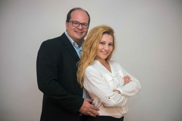 Fernando Raphael e Fabiana Schreiner - Crédito: Matheus Sisnando/Divulgação
