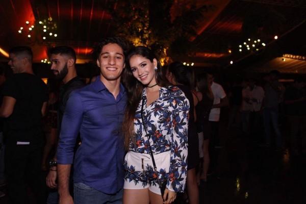 Guilherme Rocha e Leticia Araújo - Crédito: Clóvis Gomis/Divulgação