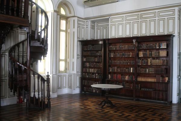 Gabinete Português de Leitura - Crédito: Julio Jacobina/DP