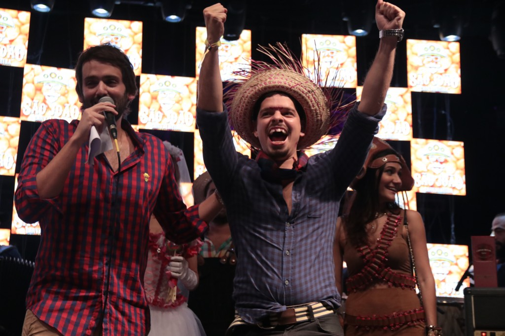 A festa ainda contou com concurso do Rei do Milho - Crédito: Luiz Fabiano