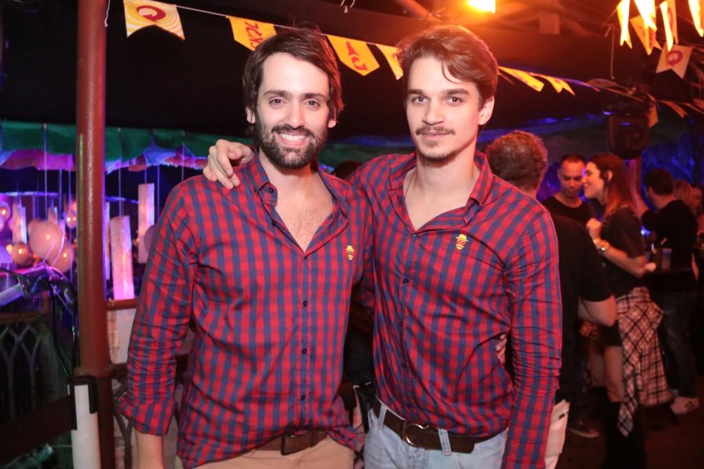 Jorge Peixoto e Victor Carvalheira - Crédito: Luiz Fabiano