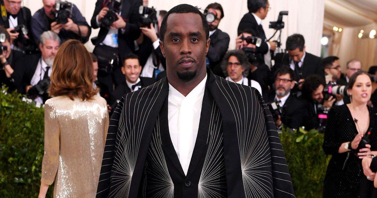 O rapper e empresário Diddy é o primeiro da lista - Crédito: Reprodução/Twitter