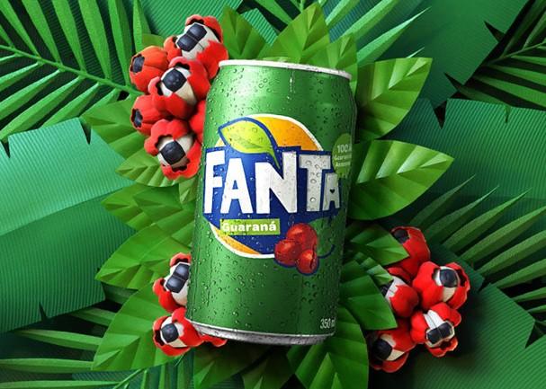 Fanta Guaraná: o guaraná de todos esses produtos é 100% proveniente do Amazonas - Crédito: Divulgação/Coca-Cola