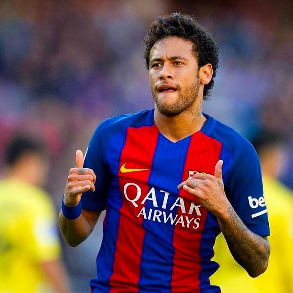Neymar ocupa o 71º lugar e é o único brasileiro da lista - Crédito: Reprodução/Instagram