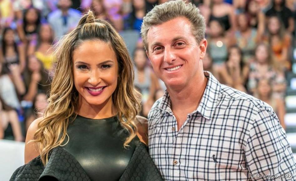Claudia Leitte e Luciano Huck - Crédito:Gshow/Divulgação