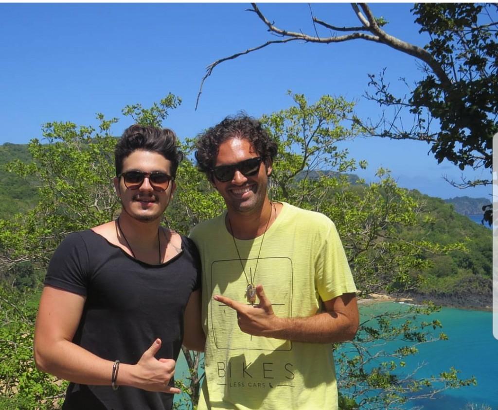 Luan Santana e Tuca Sultanum - Crédito: Reprodução / Instagram