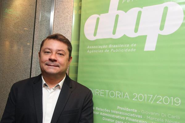 Giovanni di Carli, novo presidente da ABAP.  Crédito: Nando Chiappetta/Divulgação