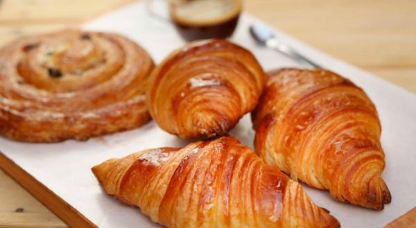 Os famosos croissants do Galo Padeiro - Crédito: Divulgação