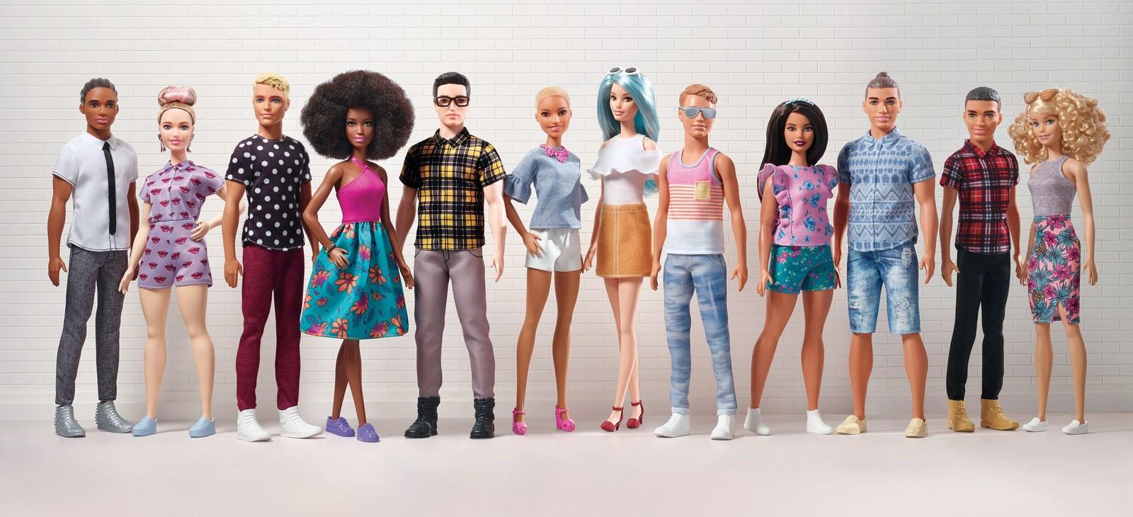 Linha Barbie Fashionistas ganhou novos Ken - Crédito: Divulgação/Mattel