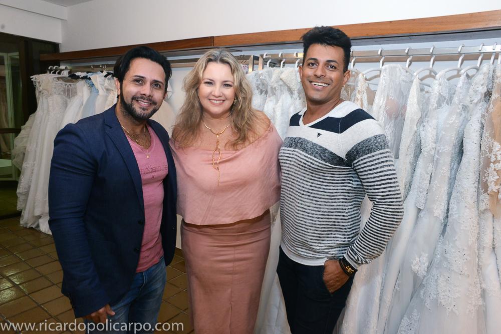 Berg, Cyntya e Eliel - Crédito: Ricardo Policarpo