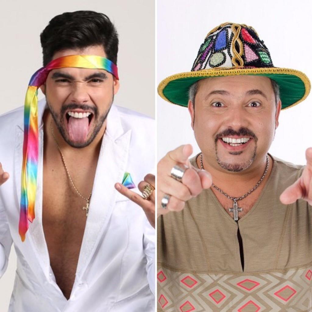 Gabriel Diniz e Geraldinho Lins - Crédito: Divulgação