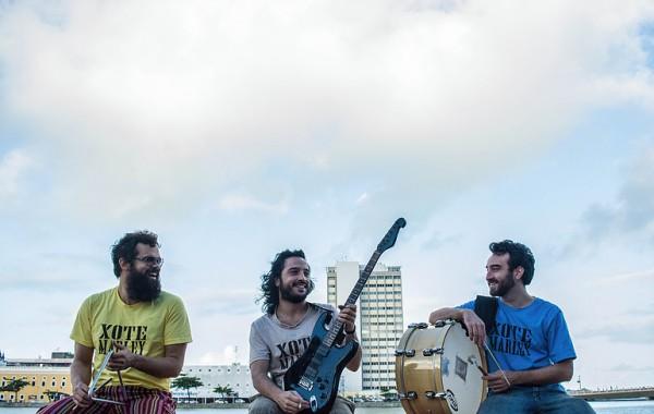 Trio Xote Marley - Crédito: Divulgação