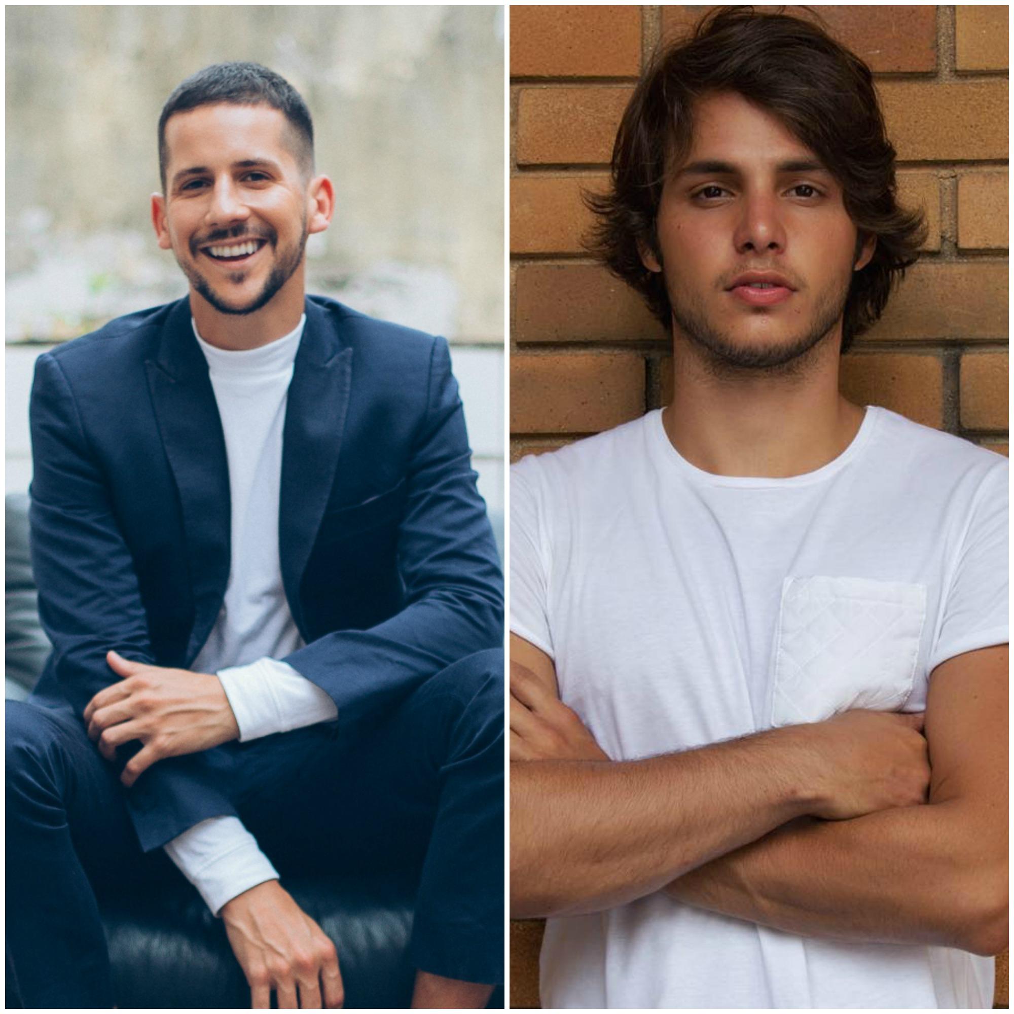 Caio Braz e Bruno Guedes são os embaixadores da campanha - Crédito: Divulgação