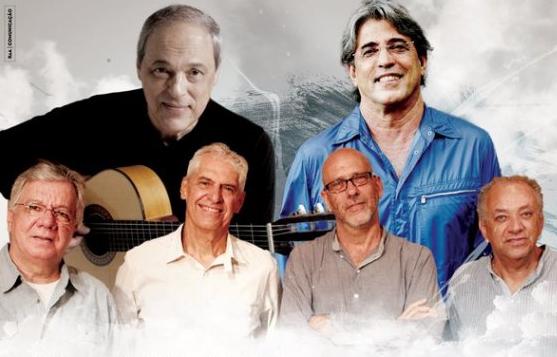 Toquinho, Ivan Lins e MPB4 comemoram 50 anos de carreira com show no Teatro Guararapes - Crédito: Divulgação dos artistas