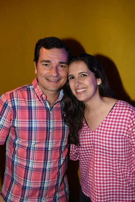 Geraldo Bandeira e Marina Brennand - Crédito: Felipe Souto Maior