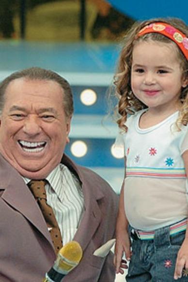 Aos 3 anos, Maisa se apresentou no Programa Raul Gil - Crédito: Divulgação