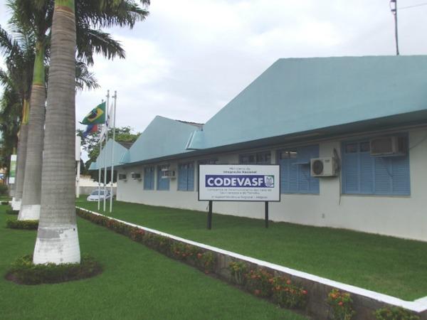 Fachada de uma das sedes da Codevasf -  Crédito: Divulgação