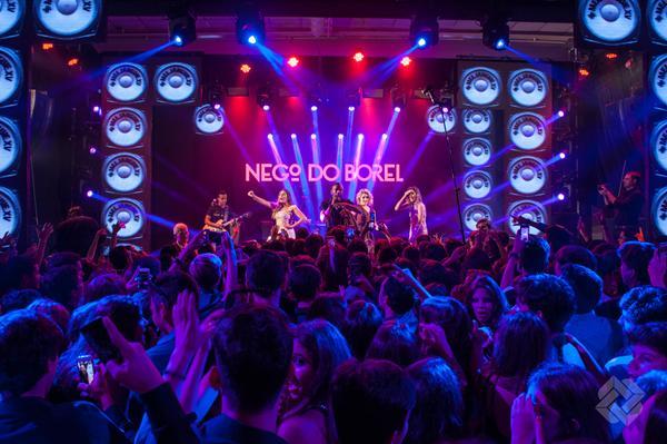 Nego do Borel foi uma das atrações do aniversário de Mel Janguiê - Crédito: Bosquinho Lacerda/Divulgação