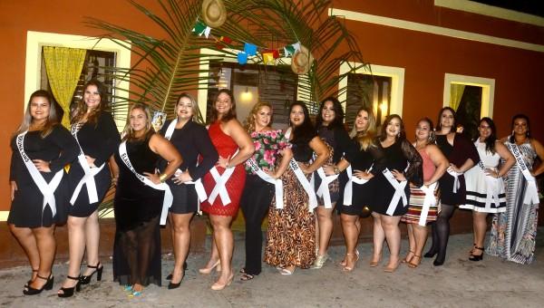 Candidatas ao Miss Plus Size Fashion Recife - Crédito: KreativE Assessoria/Divulgação